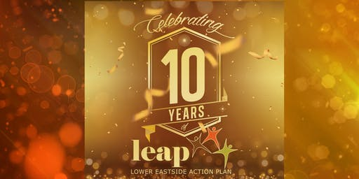 Celebrate 10 Years of LEAP