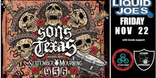 Sons of Texas + September Mournig