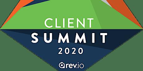 Rev.io Client Summit 2020 tickets