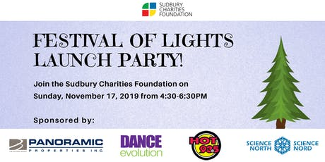 Sudbury Charity Foundation's Festival of Lights Launch 2019 tickets