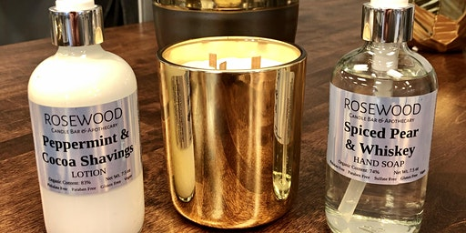 Candle, Lotion and Hand Soap Class