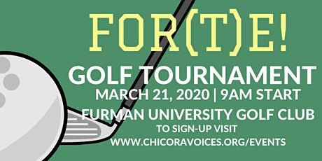 FOR(T)E Golf Tournament tickets