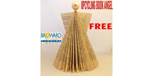 UPCYCLING BOOK ANGEL:  Multicultural Holidays West Regional Library