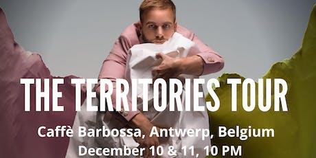 Tom Goss at Caffe Barbossa tickets