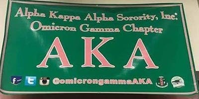Alpha Kappa Alpha Omicron Gamma Chapter Fall 2019