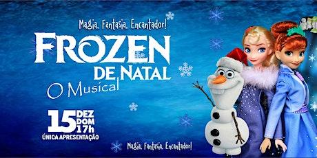 DESCONTO: Frozen de Natal, O Musical, no Teatro Corinthians ingressos