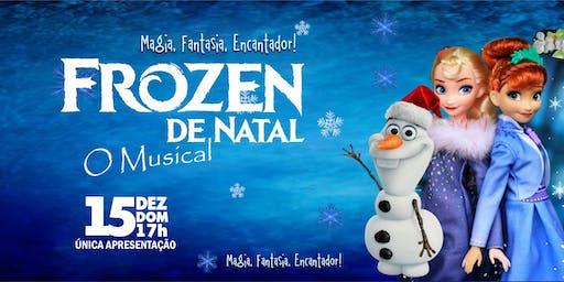 DESCONTO: Frozen de Natal, O Musical, no Teatro Corinthians