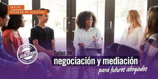 Taller de negociación y mediación para futuros abogados - ADM