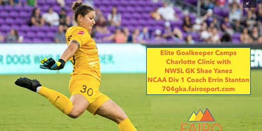Charlotte, NC- 2 day GK Clinic with NWSL GK Shae Yanez and NCAA Div 1 Coach