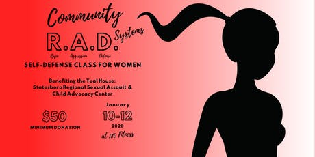 Community R.A.D. Systems Self-Defense Class for Women tickets