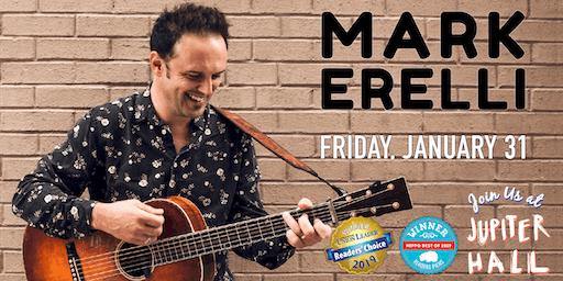 Mark Erelli Live in Concert at Jupiter Hall!