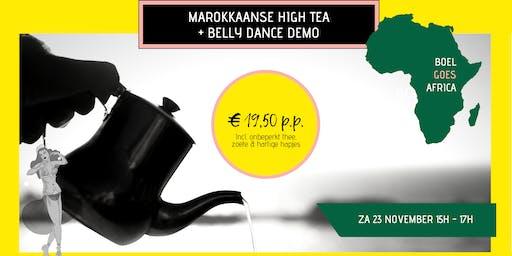 BOEL goes Africa: Marokkaanse high tea & belly dance demo!