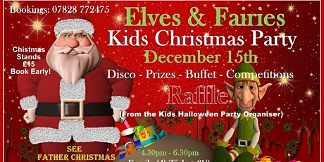 Elves & Fairies Kids Christmas Party  tickets