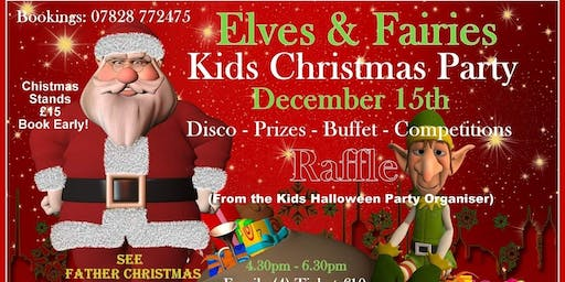 Elves & Fairies Kids Christmas Party