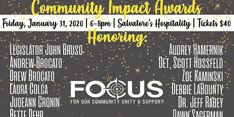 Community Impact Awards Dinner tickets
