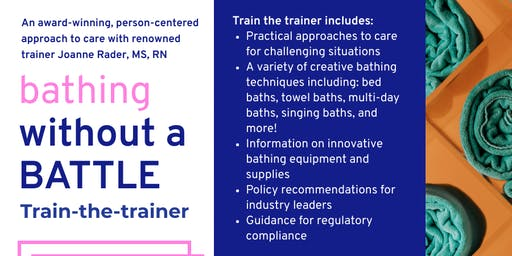 Bathing without a Battle - Train the trainer
