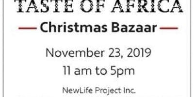Taste of Africa : Christmas Bazaar ( Food, clothes, gifts, crafts & more)