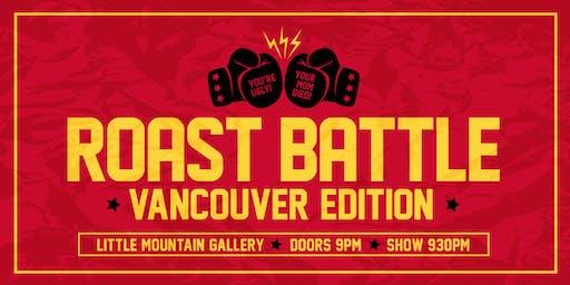 Roast Battle Vancouver: Championship Extravaganza