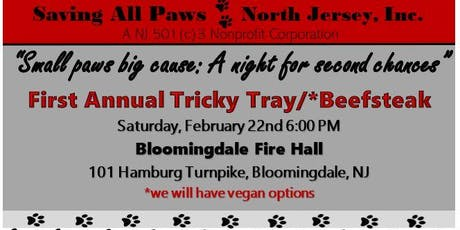 "First Annual Beefsteak: Saving All Paws North Jersey ""Small paws big Cause"" tickets"