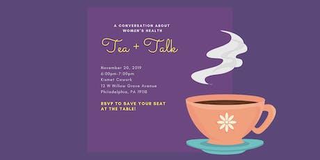 Women's Health Tea + Talk tickets