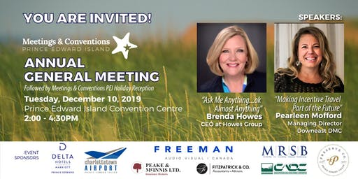 Meetings & Conventions PEI - Annual General Meeting
