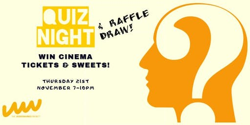 Quiz Night! in Support of The Woodworks Project