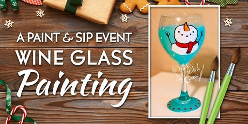 New Class! Join us for our Wine Glass Painting Party Workshop at The Loft Wine Bar & Restaurant on 12/14 @ 1pm