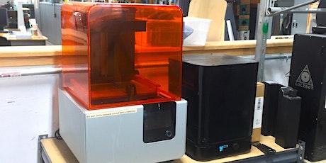 Tool Training: Resin 3D Printing tickets
