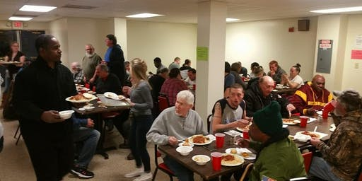 Dinner at the Hagerstown Rescue Mission