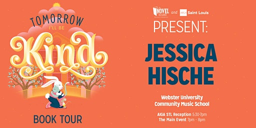 "Jessica Hische  Book Tour  - ""Tomorrow I'll Be Kind"""
