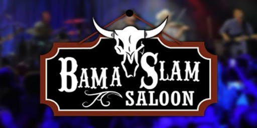 3 Day Concert Event Pass Thursday-Saturday at Bama Slam Saloon