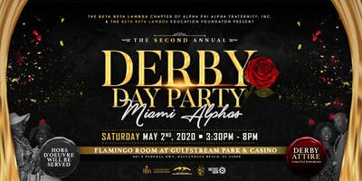 Derby Day Party 2020 hosted by the MIAMI ALPHAS