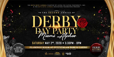Derby Day Party 2020 hosted by the MIAMI ALPHAS tickets