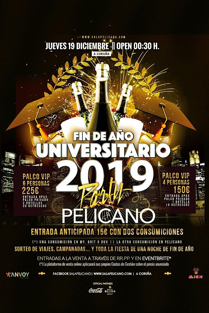 Imagen de Fin de Año Universitario |  PELICANO