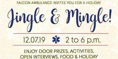 Falcon Ambulance Jingle + Mingle Holiday Networking Event