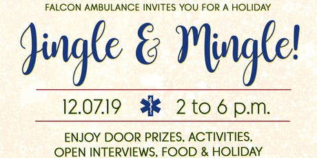Falcon Ambulance Jingle + Mingle Holiday Networking Event tickets