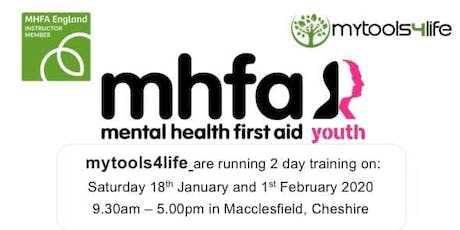 Youth Mental Health First Aid (MHFA) 2 Day Training  tickets