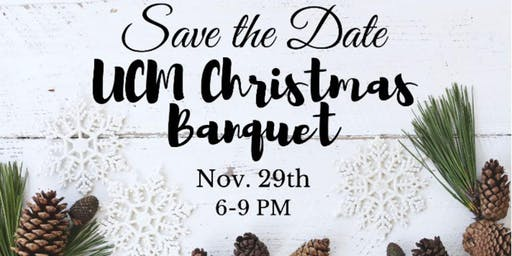 UCM Christmas Banquet