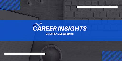 Career Insights: Monthly Digital Workshop - Tilburg
