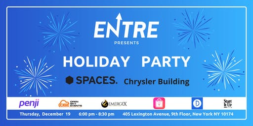 Startup Holiday Party at Spaces NYC