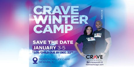 CRAVE Youth Ministry - Winter Camp 2020 tickets