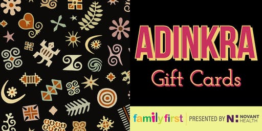 Family First: Adinkra Gift Card Making