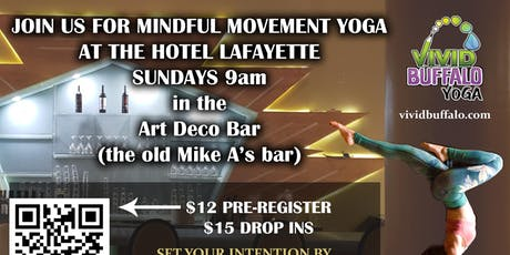 Sunday Yoga @ Hotel Lafayette tickets