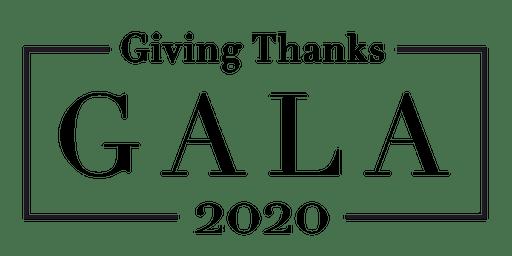 Giving Thanks Gala 2020