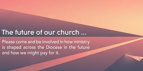 Diocesan open conversation on the future of ministry_4 tickets