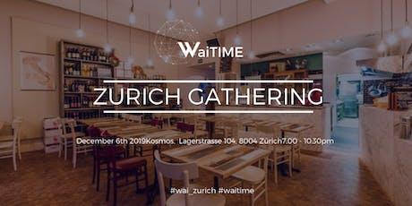 WaiTIME Zurich X-Mas Drinks tickets
