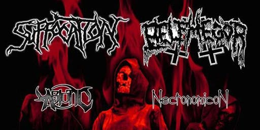 Suffocation, Belphegor, Abiotic, Necronomicon  LIVE @ STEREO GARDEN
