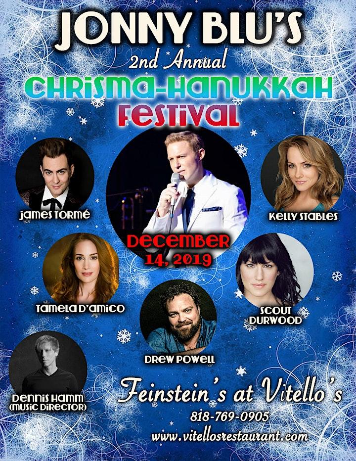 Jonny Blu's 2nd Annual Christma-Hanukkah Festival image
