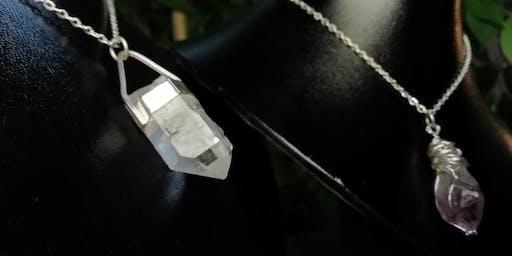 Crystal Pendant Workshop