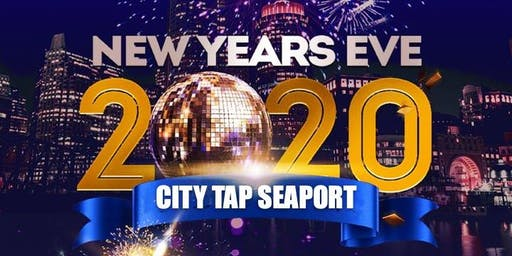 New Year's Eve 2020 at City Tap Seaport!